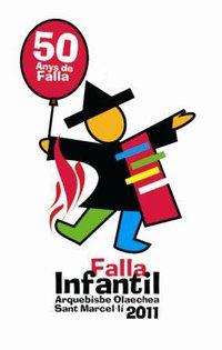 Fiesta Romana 50 aniversario infantil de la Falla Arzobispo Olaechea-San Marcelino