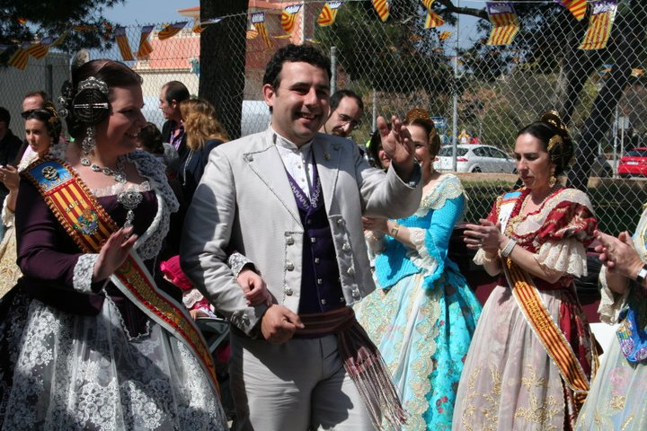 Pedro Rubio, Presidente de la Falla Cervantes