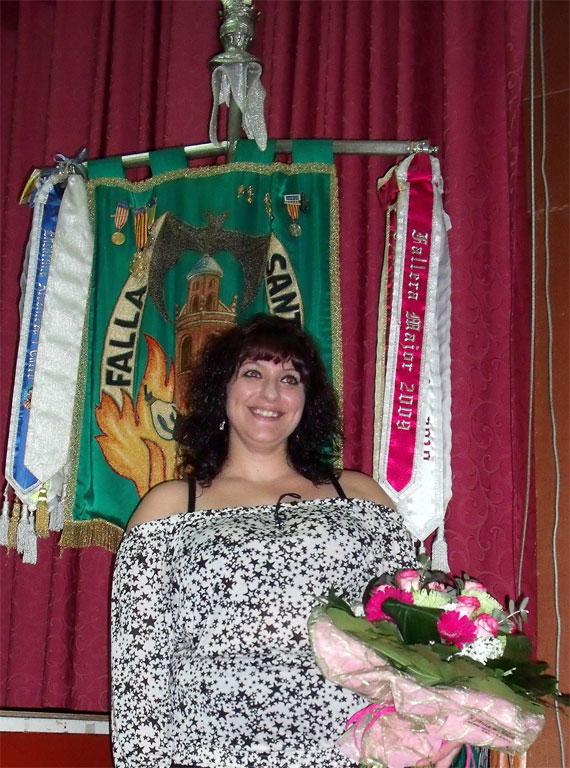 Tania Cervera Alfaro Fallera Mayor 2012 Falla San Isidro