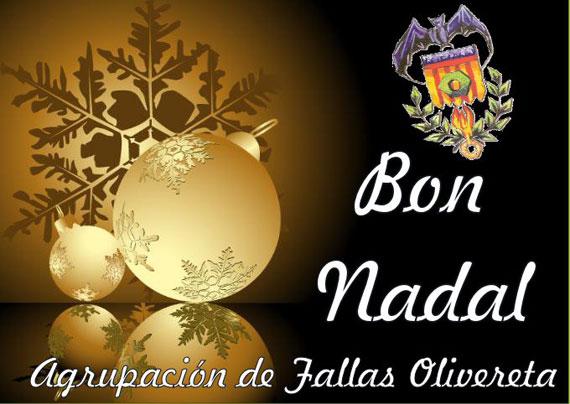 Feliz Navidad - Agrupación de Fallas Olivereta