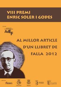Concessió Premi Soler i Godes-Premi de les Lletres Falleres