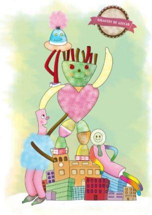 Falla infantil - Toño Savall - Gigantes de azucar 400x566