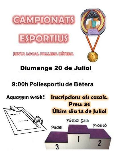 cartell campionats esportius 2015